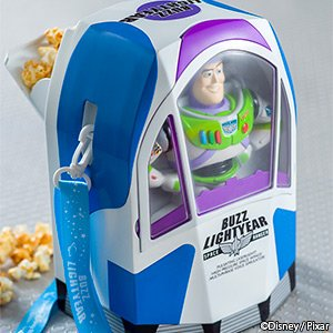 Buzz Lightyear Popcorn Bucket