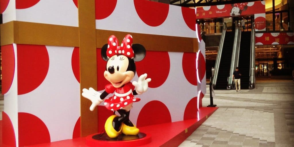 New Disney Store Opens in Shanghai