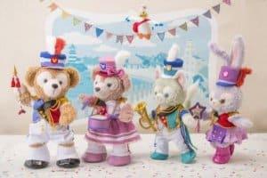 Duffy and Friends Tokyo Disney Resort 35th Anniversary Merchandise