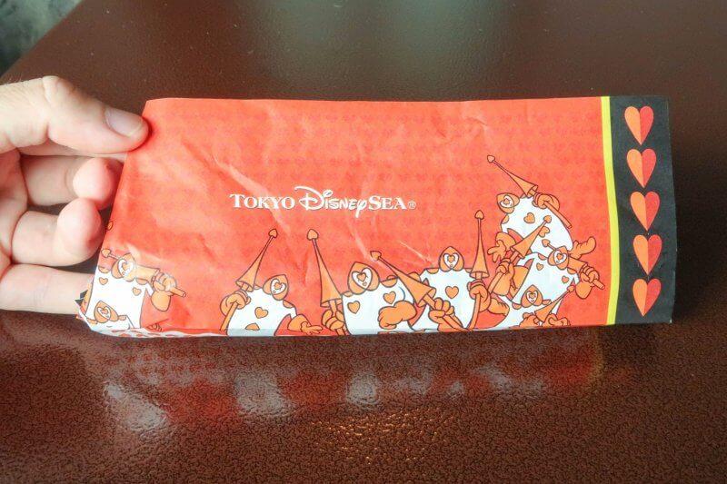 Gyoza Dog Packaging Back Tokyo DisneySea Halloween