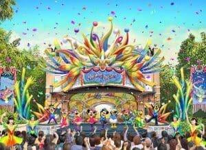 Let's Party Gras! at Tokyo Disneyland