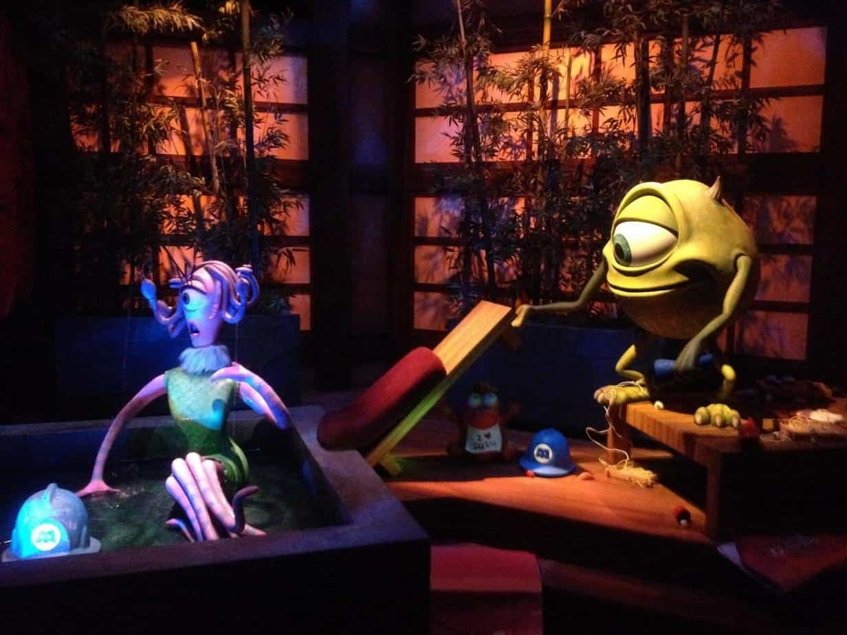 Mike & Celia in Monsters, Inc. Ride & Go Seek! at Tokyo Disneyland