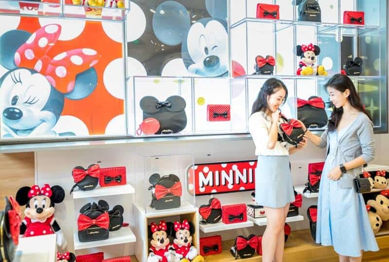 The new M28 Mickey Collection of designer bags