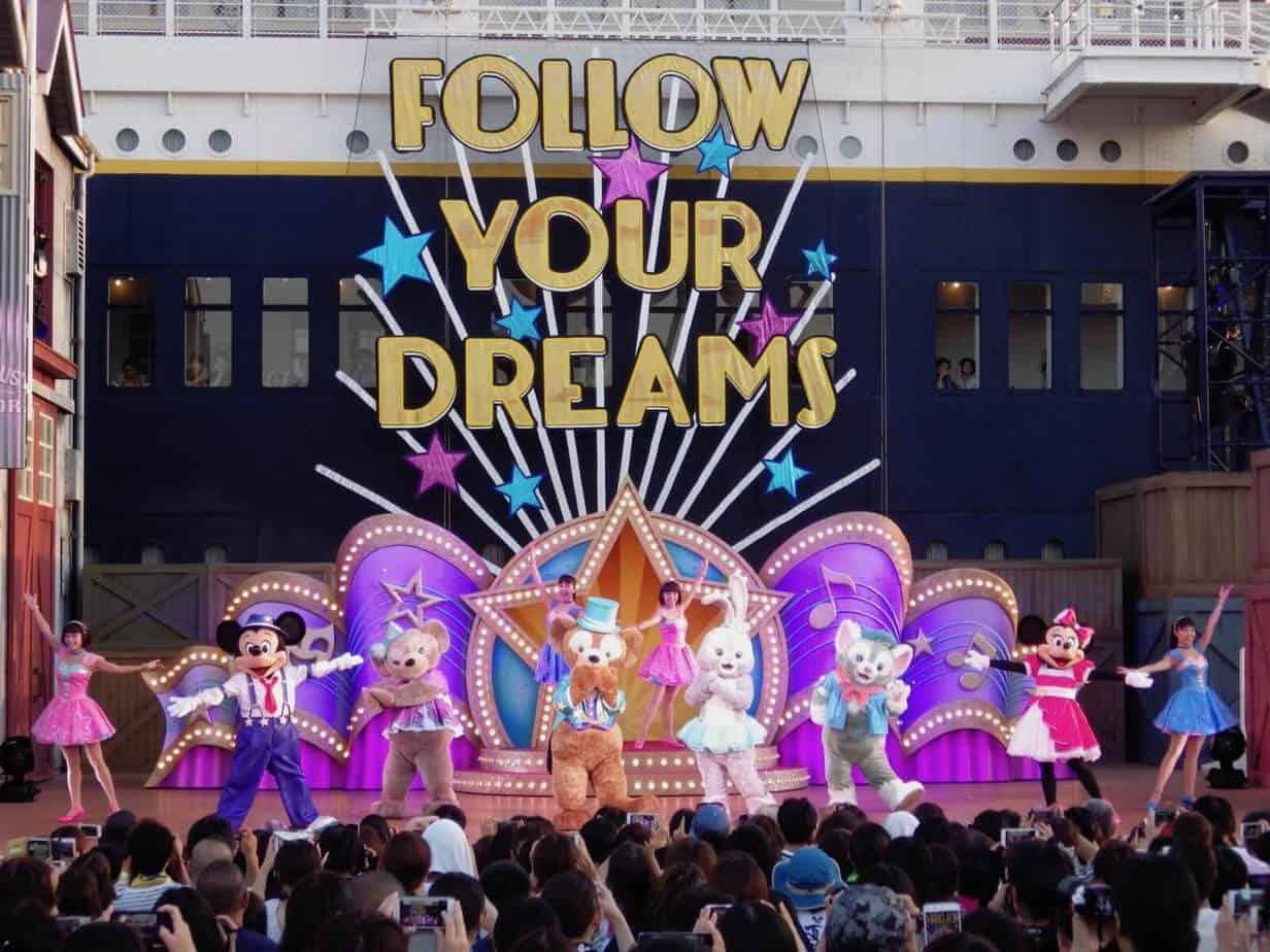 Steps to Shine at Tokyo DisneySea