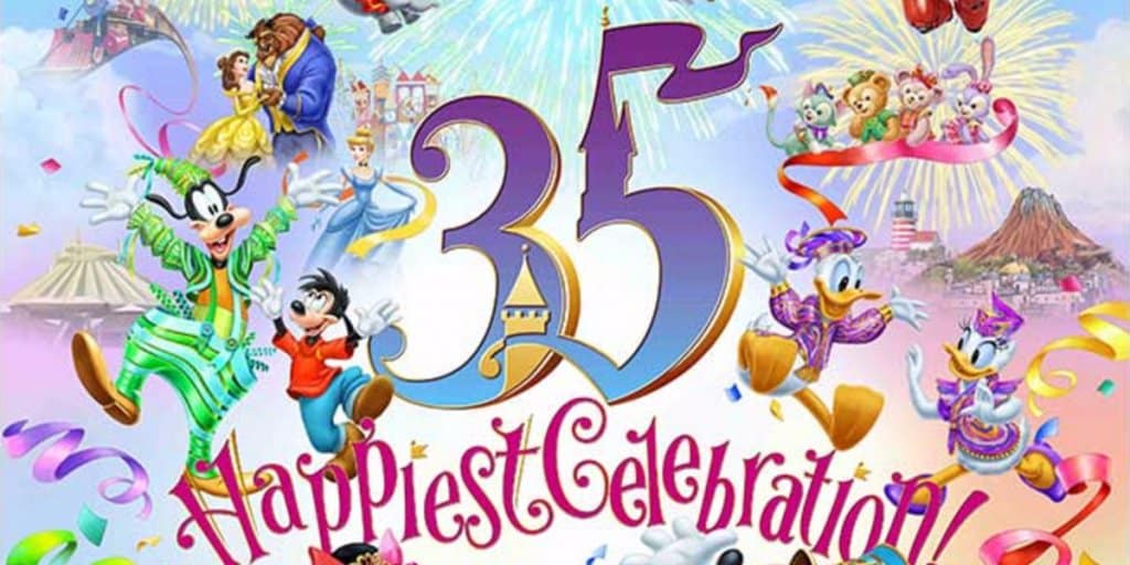 "Tokyo Disney Resort 35th Anniversary ""Happiest Celebration!"" Details"
