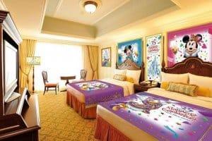 Tokyo Disneyland Hotel Decor
