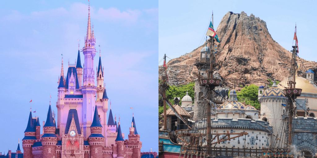 Tokyo Disneyland or DisneySea: Which Park to Visit?