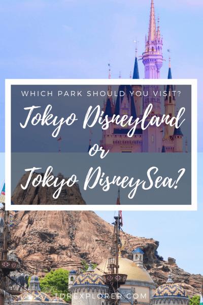 Tokyo Disneyland or Tokyo DisneySea Pinterest