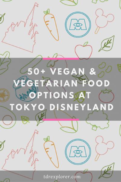 Vegan Vegetarian Food Tokyo Disneyland Pinterest
