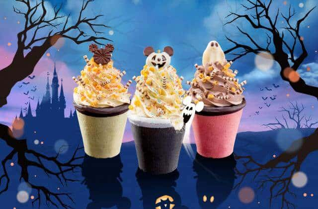 Whimsical Sundaes with Edible Cookie Cups Shanghai Disneyland Halloween