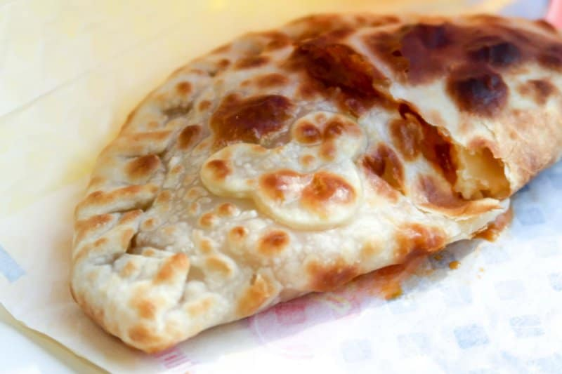 Calzone Mickey Pan Galactic Pizza Port
