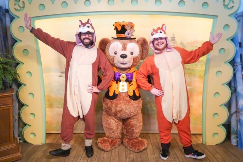 Chip n Dale and Duffy Tokyo DisneySea