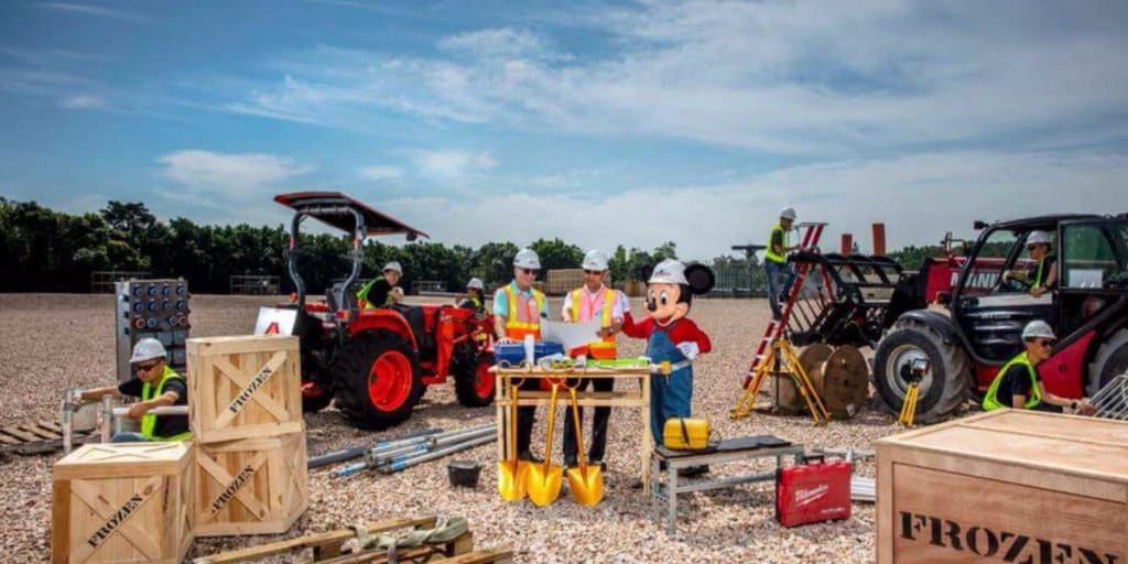 Construction of Hong Kong Disneyland's Multi-Year Expansion Officially Begins