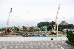 Fantasyland Expansion Fall 2017 Monorail 1