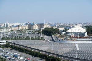 Hilton Tokyo Bay Fantasyland Construction 1