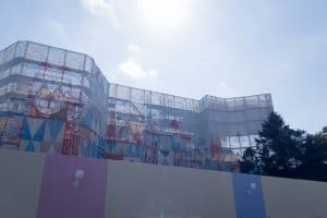 its a small world Tokyo Disneyland Construction 2