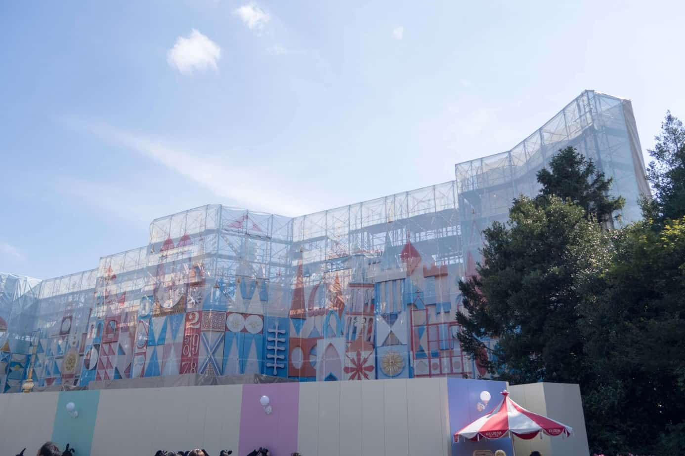 Its A Small World Tokyo Disneyland Construction 5 Tdr