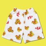 Mickey Pizza Shorts