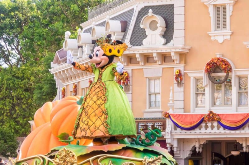 Minnie Mouse in Mickey's Halloween Time Street Party