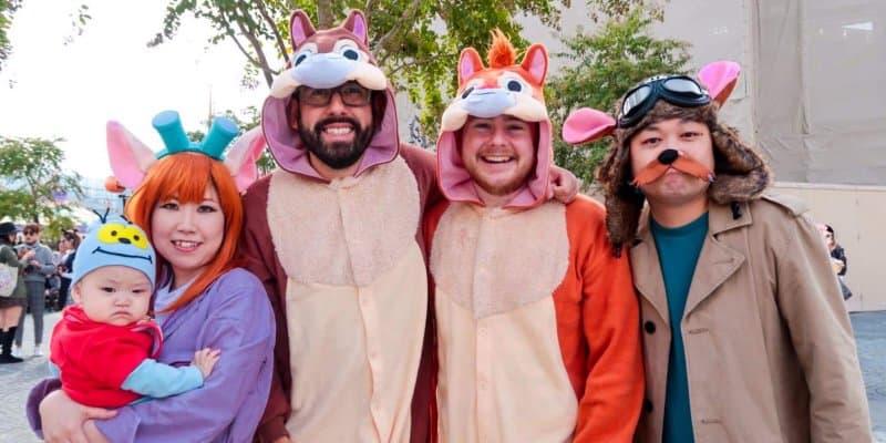 My Favourite Halloween Costumes at Tokyo Disneyland