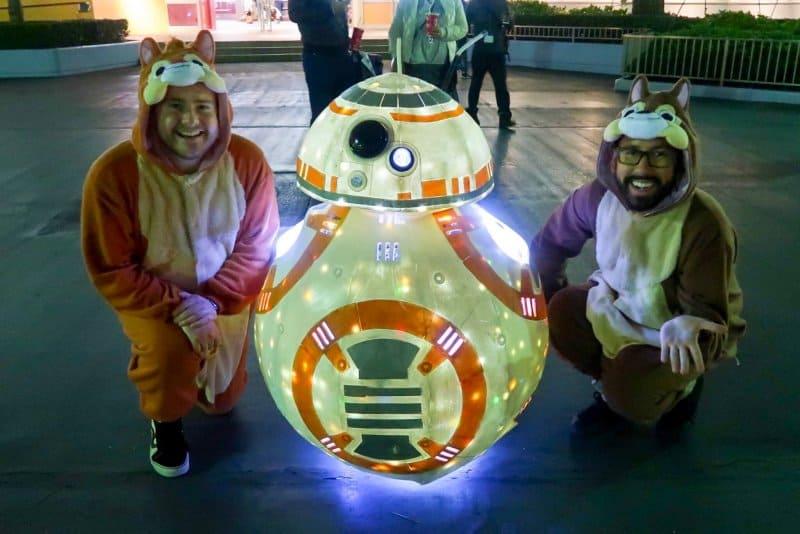 R2D2 Chip n Dale Tokyo Disneyland