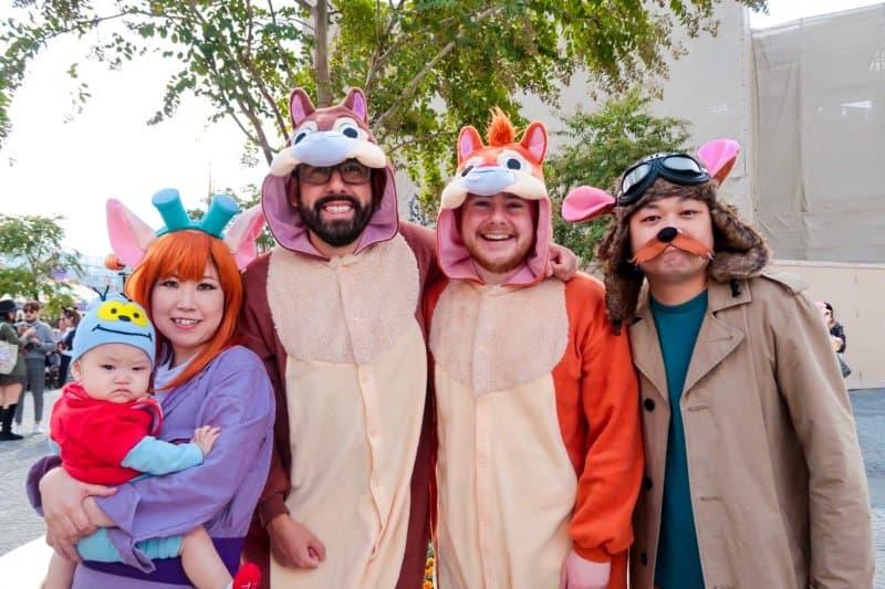Rescue Rangers Chip n Dale Tokyo Disneyland