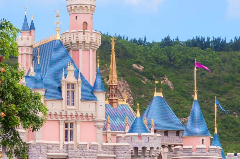 Sleeping Beauty Castle Hong Kong Disneyland