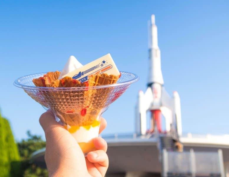 Space Sundae StarJets Tokyo Disneyland