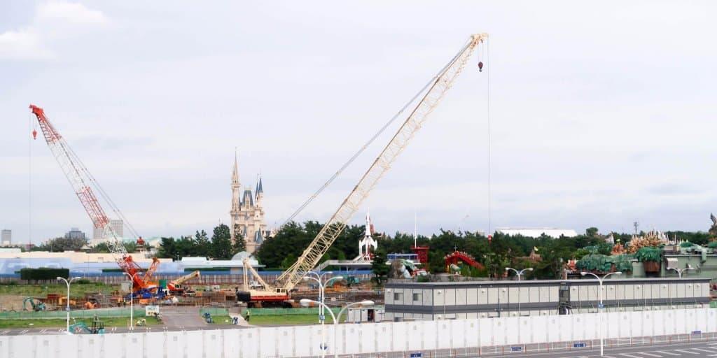 Tokyo Disneyland Fantasyland Construction Update Fall 2017