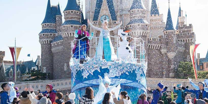 Frozen Fantasy Returns to Tokyo Disneyland