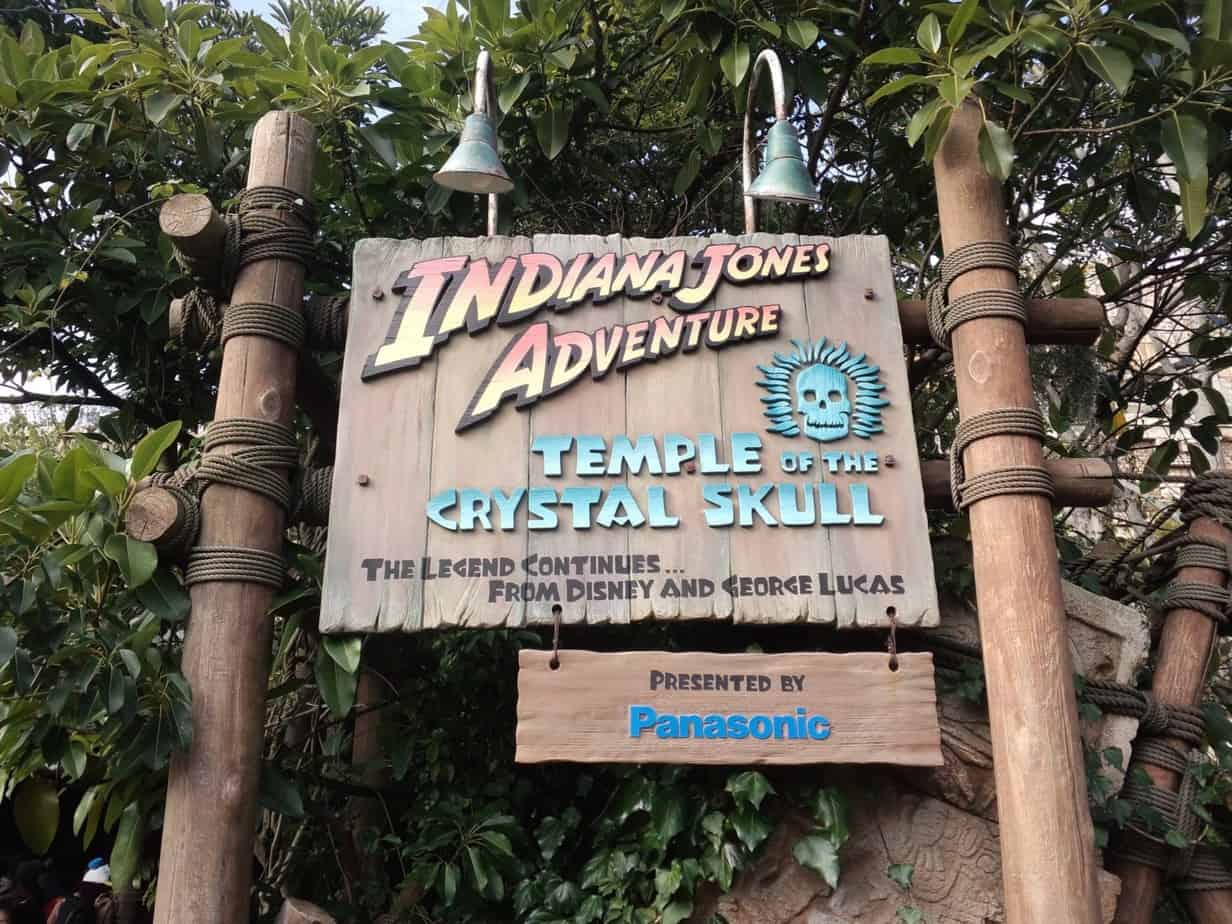 Indiana Jones Adventure Sign