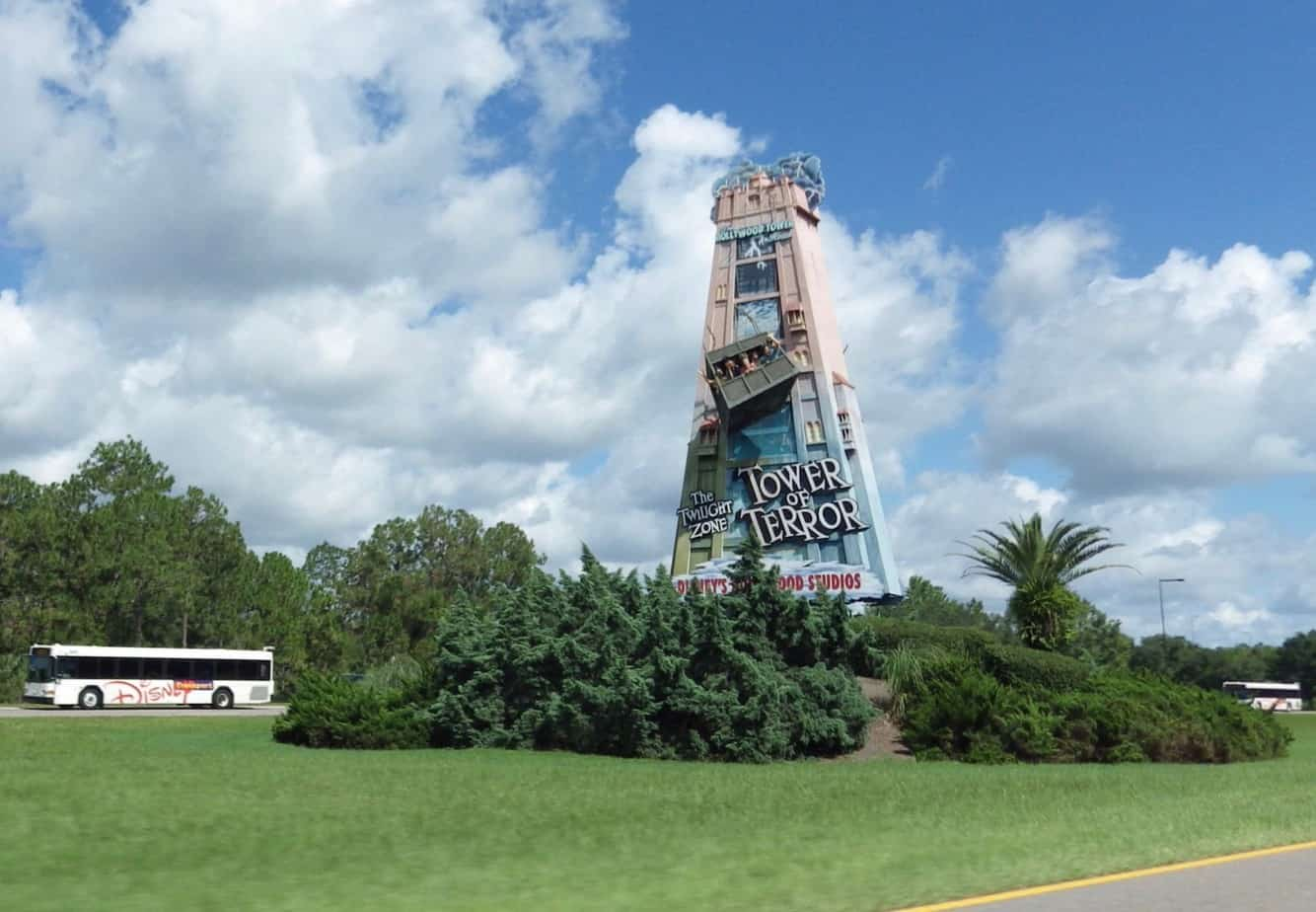 WDW Tower of Terror Road Sign