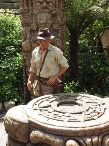 Indiana Jones Character Greeting