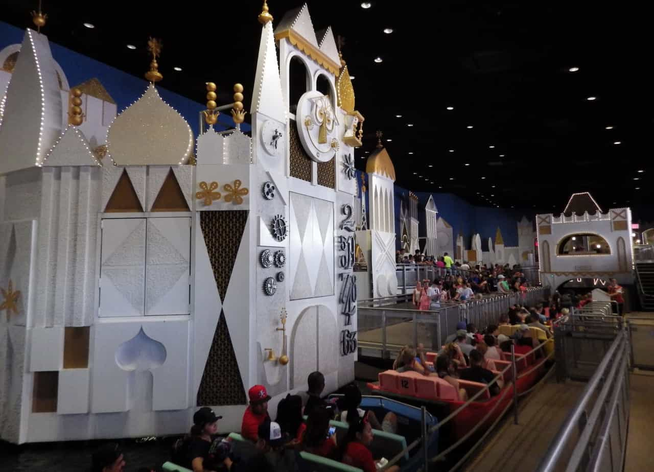 WDW It's a Small World Interior
