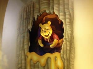 The Many Adventures of Winnie the Pooh Ride Scene