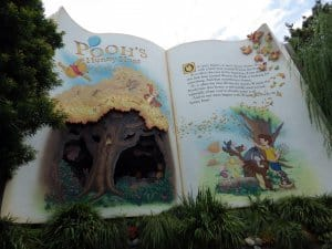 Pooh's Hunny Hunt Exterior