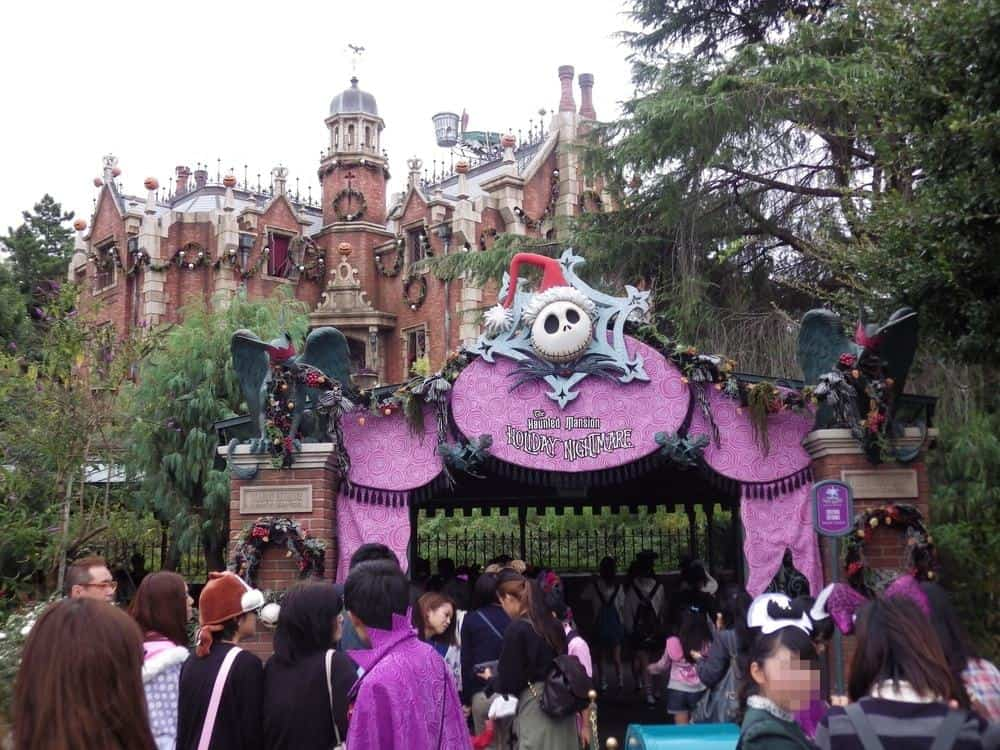 TDL Haunted Mansion Holiday Nightmare