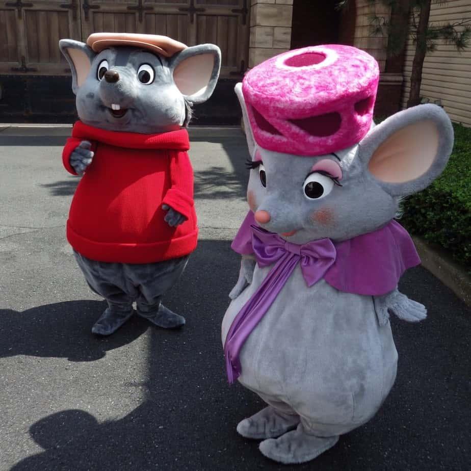 Bernard and Bianca at Tokyo DisneySea
