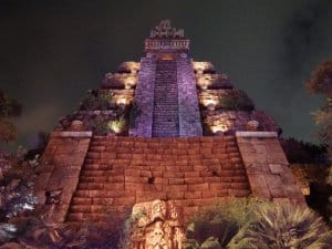 Temple of the Crystal Skull Night