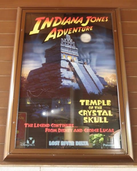 Indiana Jones Adventure Ride Poster