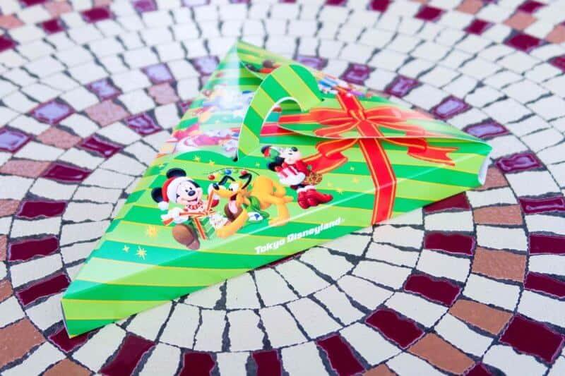 Christmas Tree Pizza Tokyo Disneyland