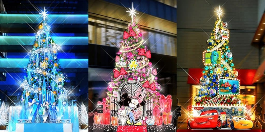 disney dream moments comes to tokyo this christmas - When Does Disney Decorate For Christmas 2017