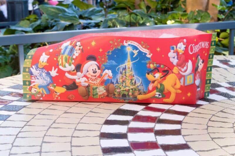 Crepe Christmas Packaging Tokyo Disneyland