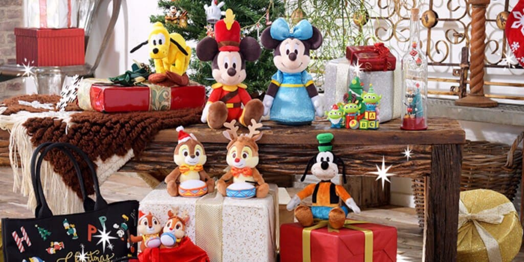 Disney Store Japan Christmas Merchandise November 2017