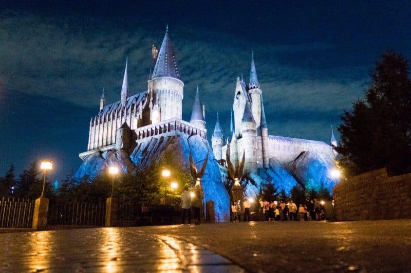 Hogwarts Evening Universal Studios Japan