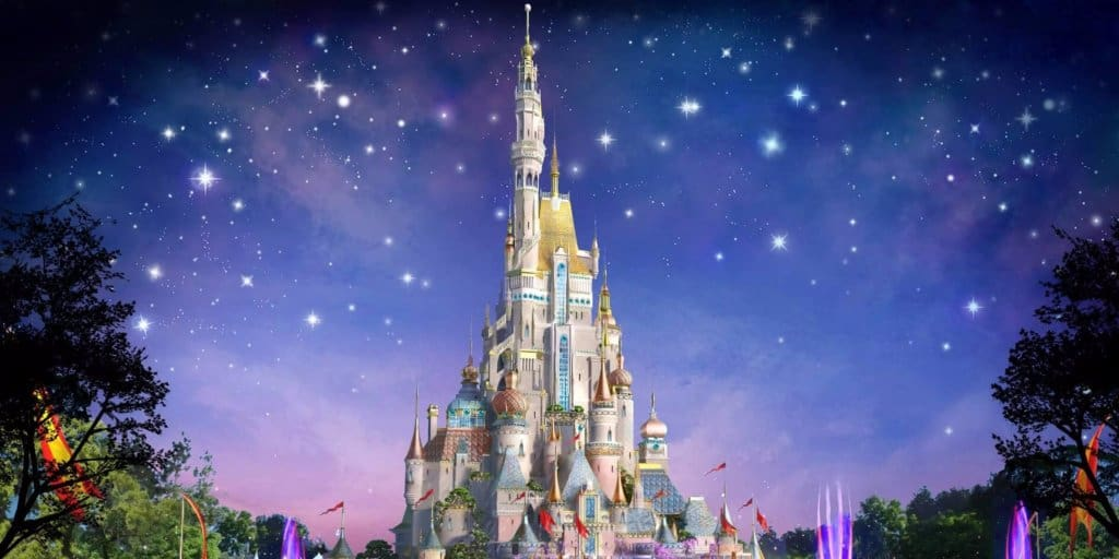 Hong Kong Disneyland Begins Castle's Transformation in January