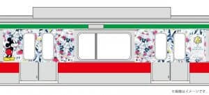 Mickey Train Design