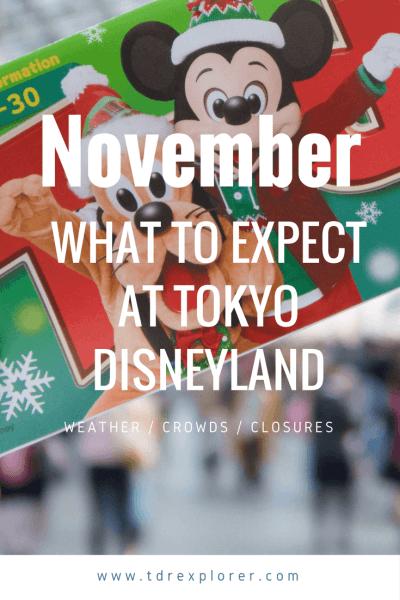 November Tokyo Disneyland Pinterest
