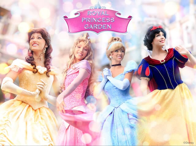 Royal Princess Garden Hong Kong Disneyland