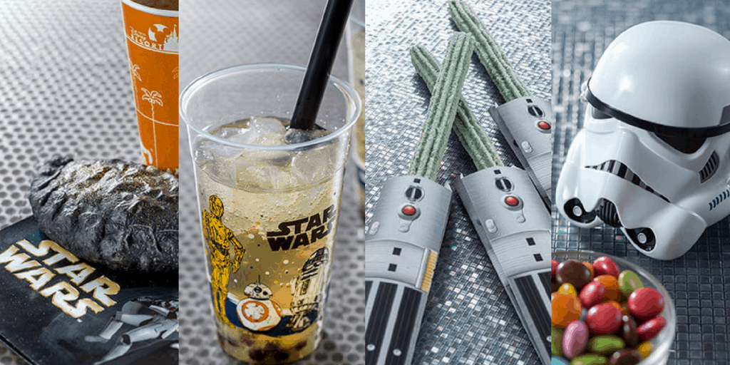 "Star Wars ""Feel the Force"" Merchandise & Snacks at Tokyo Disneyland"
